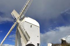 Jack and Jill Windmills, village of Clayton