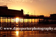 Sunrise over Worthing Pier