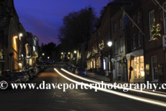 Christmas Lights at night, Arundel town