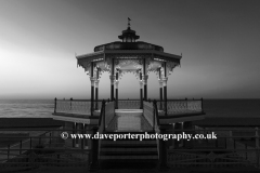 Dawn, the Victorian Bandstand, Brighton City