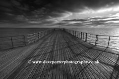 Dramatic clouds over Bognor Regis Pier