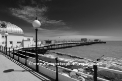 the Victorian Pier, Worthing town
