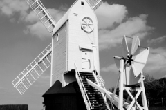 Jill Windmill near Clayton village South Downs