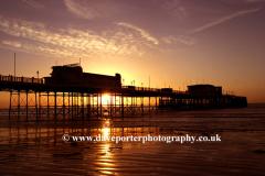 Sunrise, Worthing Pier