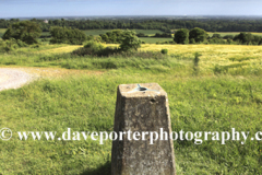 The Little Down OS Trig Point, Slindon village