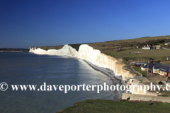 The 7 sisters cliffs from Birling Gap