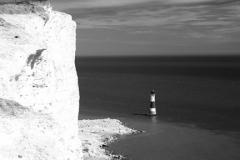 , the cliffs and Beachy Head Lighthouse