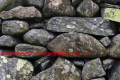 Drystone Wall detail at Grasmere water, Lake District