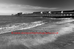 Sea paterns, Southwold Pier