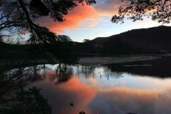 Dawn Sunrise over Friars Crag on Derwentwater