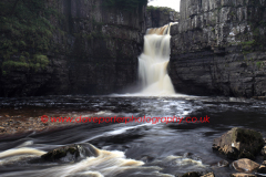 High Force Waterfall, river Tees, Teesdale
