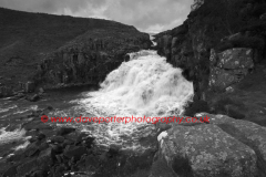 Cauldron Snout waterfall, Cow Green, Teesdale