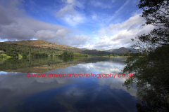 Reflections in Grasmere Water, Lake District