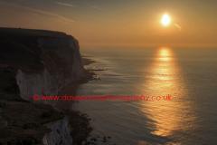 Sunrise, White Cliffs of Dover, Kent