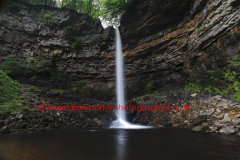Hardraw Force waterfall, River Ure, Wensleydale