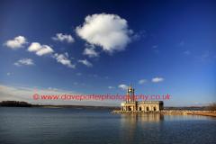 Summer day, Normanton church, Rutland Water