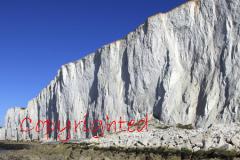 White Limestone Chalk Cliffs, Beachy Head
