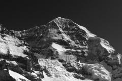 Monch mountain, Grindelwald Ski resort; Swiss Alps