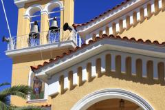 Ornate church in the town of Argostoli, Kefalonia