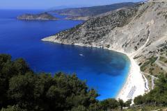 View over Myrtos Bay, Island of Kefalonia