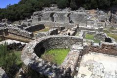 Ruins of the Great Basillica, ancient Butrint, Albania