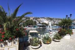 The fishermans harbour, Saranda Town, Albania