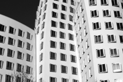 The Neuer Zollhof buildings, Düsseldorf