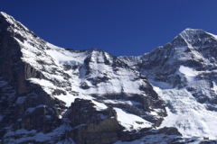 The North face of the Eiger mountain, Grindelwald Swiss Alps