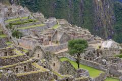 Buildings in the Eastern Urban Sector of Machu Picchu