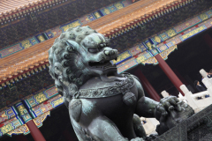 Architectural details in Tian'anmen Square, Beijing