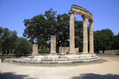 The Philippeion, athletic centre of ancient Olympia