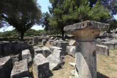 The Bouleuterion, athletic centre of ancient Olympia