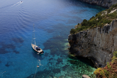 The Ionian Sea from Skinari village, Zakynthos