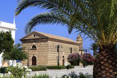 Saint Nicholas church in Solomos Square, Zakynthos
