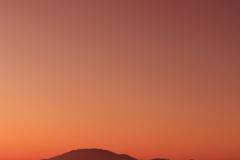Sunset, beach at Tsilivi town, Zante