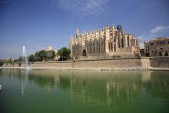 The Cathedral at Palma city, Mallorca